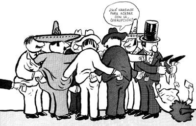 El privilegio para unos cuantos trae corrupcion, narcotrafico y violencia