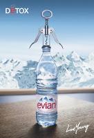 agua francesa evian